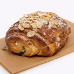 almond and chocolate croissant